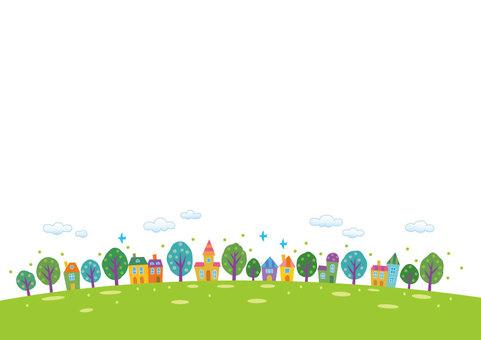 Green cityscape 1