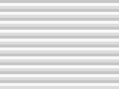 Striped frame horizontal gray
