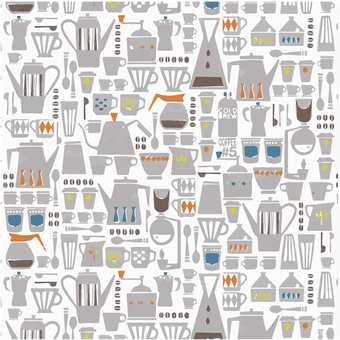 Tableware scandinavian textile
