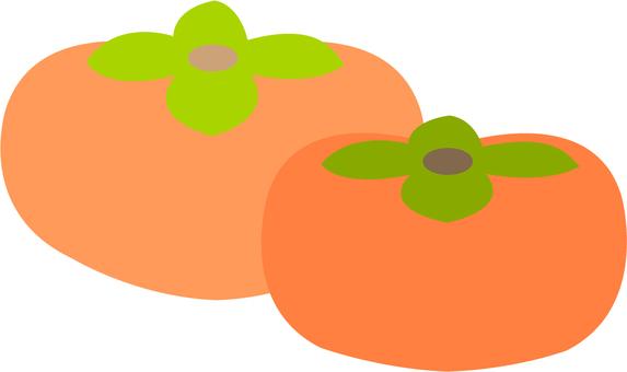 【Food】 persimmon