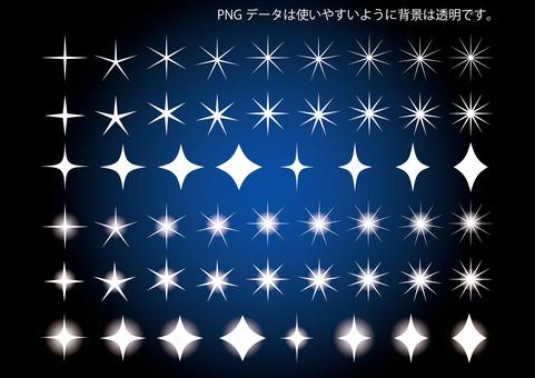 Ánh sáng lấp lánh ngôi sao sao bộ sưu tập tài liệu bộ bầu trời đêm