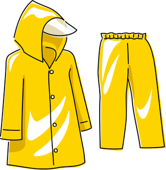 Kappa raincoat rain gear rain rain