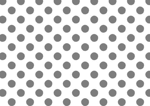 Larger Hand Drawn Dot (Gray)