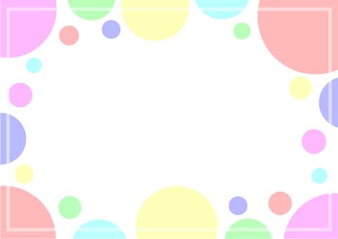 """프레임 """"물방울""""-3 랜덤"""