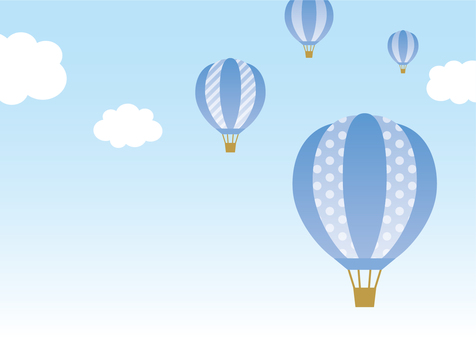Balloon sky blue