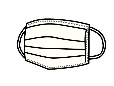 Disposable mask (white)