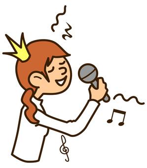 231 Women who sing karaoke