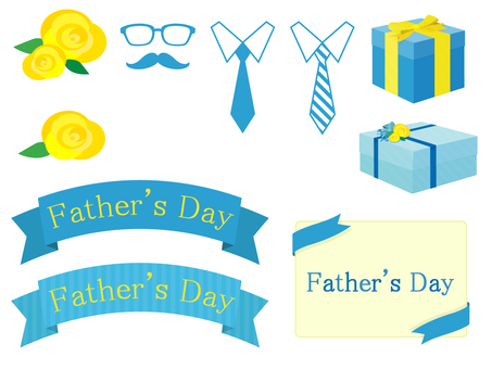 Simple father's day motif