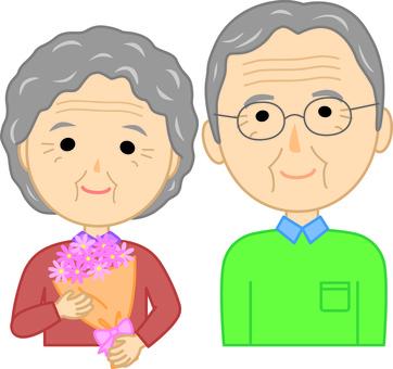 Elderly couple 3