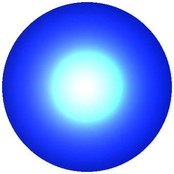 LED 青丸