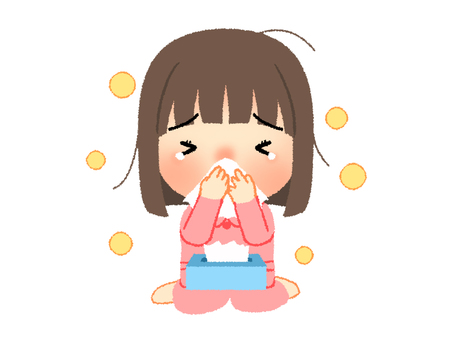 Hay fever illustration 2