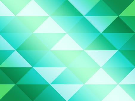 Texture triangular mosaic green