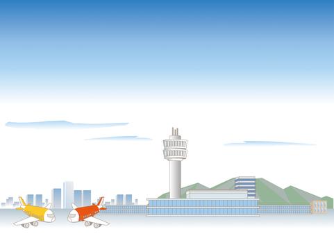 Airport landscape C