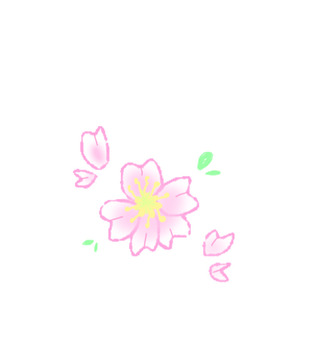 Cute simple cherry tree