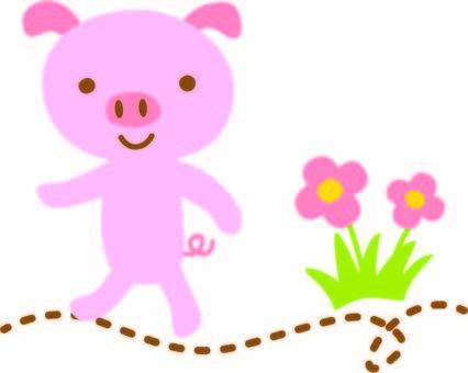 Pig walk 3