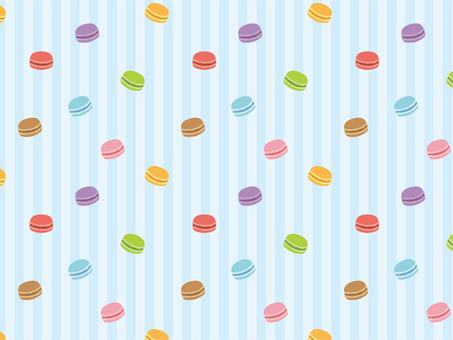 Colorful macaroon pattern 04