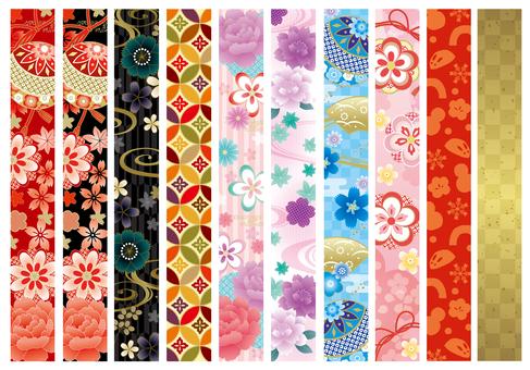 Japanese pattern line