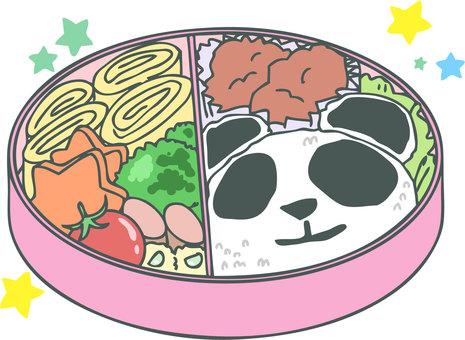 Panda lunch box
