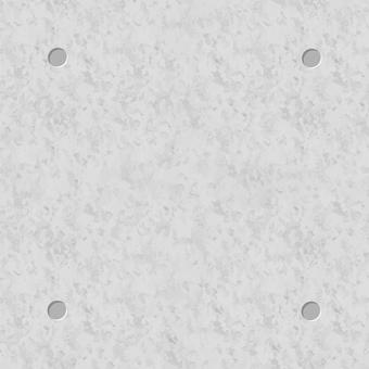 Concrete strikethrough square image