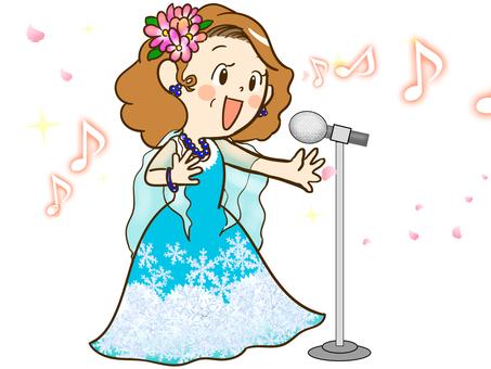 Karaoke female 1