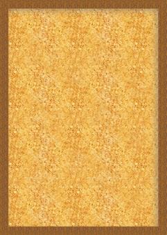 Cork board faced vertical Vertical background texture frame