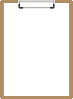 Clipboard _ With paper