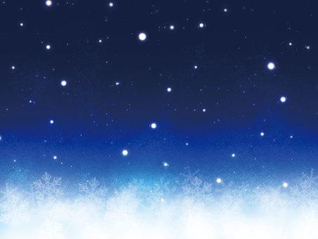 Winter snow scene frame 3