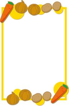 Vegetable frame 3