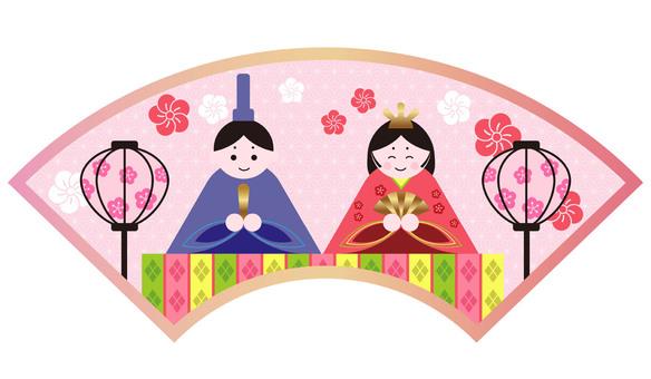 Illustration of Hinamatsuri