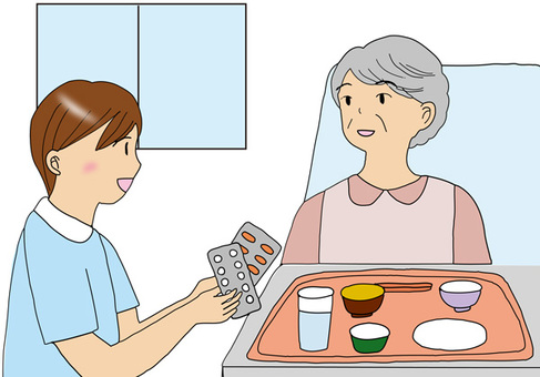 訪問看護師薬剤師女性
