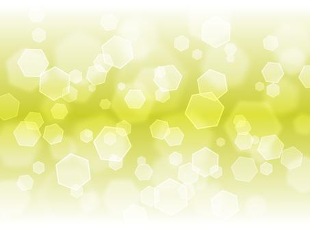 Hexagonal light · yellow green