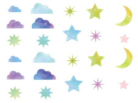 밤하늘 세트 ver01