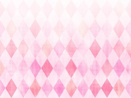 Pink diamond (Argyle) pattern background