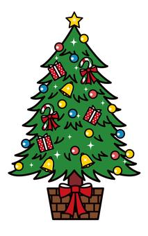 クリスマスツリー もみの木