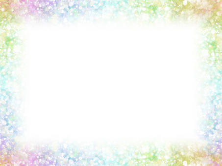 Dot frame 11 (rainbow)