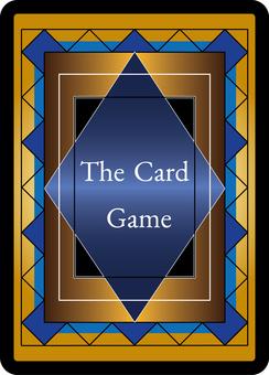 カード(ゲーム用)裏面デザイン