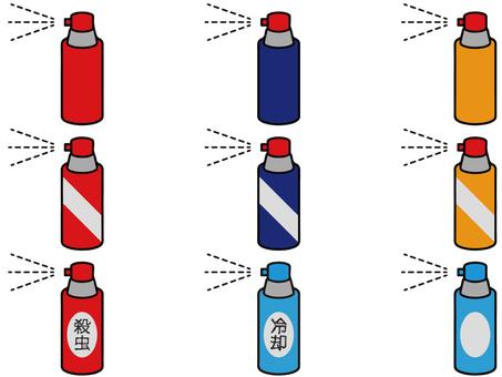 Spray set 01
