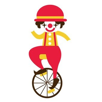 Unicycle Red