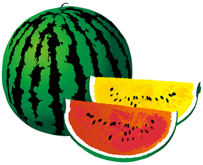 Watermelon watermelon summer fruit fruit hot summer sunrise