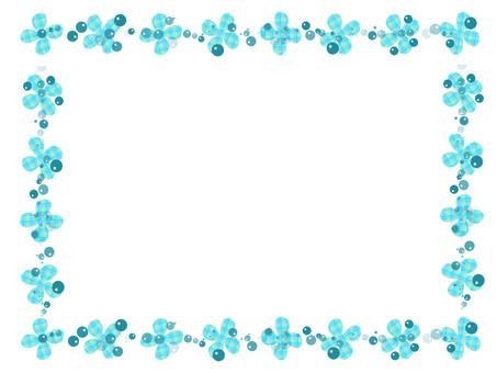 Hana line blue