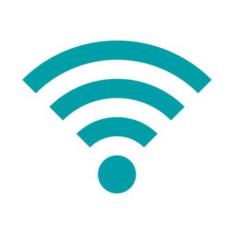 wi-fi mark (blue)