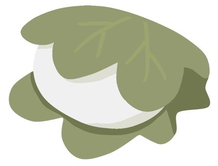Kashiwa mochi (1 piece)