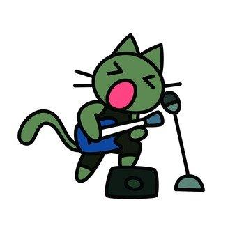 고양이의 라이브