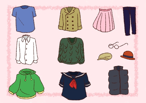 Various clothes