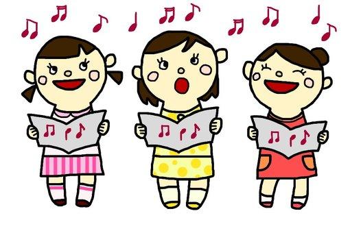 Singing girls