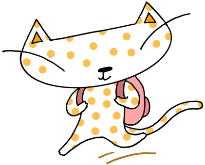 Cat character · travel