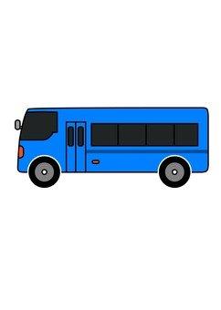 Bus (blue)