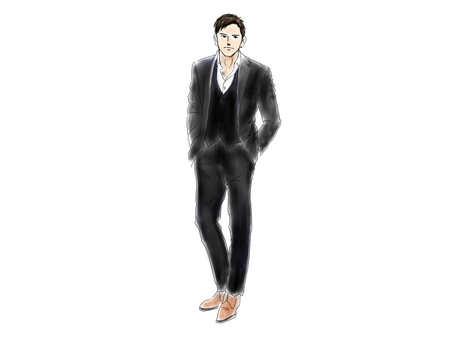 Male suit 2
