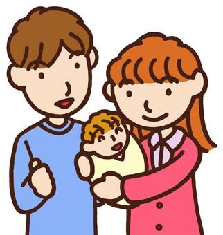 Parent-child three