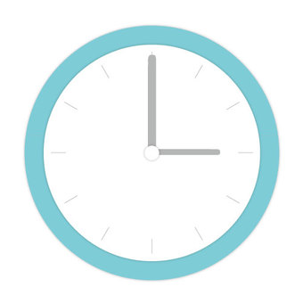 시계 파란색